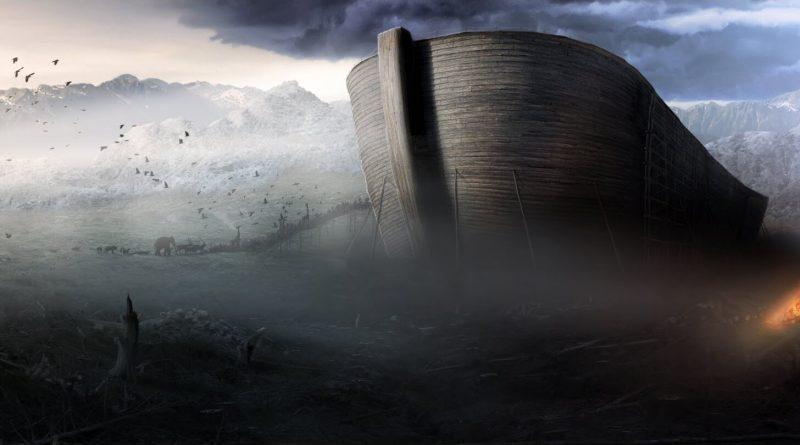 Noemova archa leží pod Araratom
